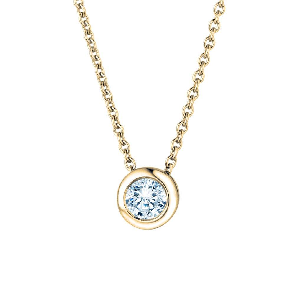 Anhänger Eternal in 18K Gelbgold mit Diamant online kaufen
