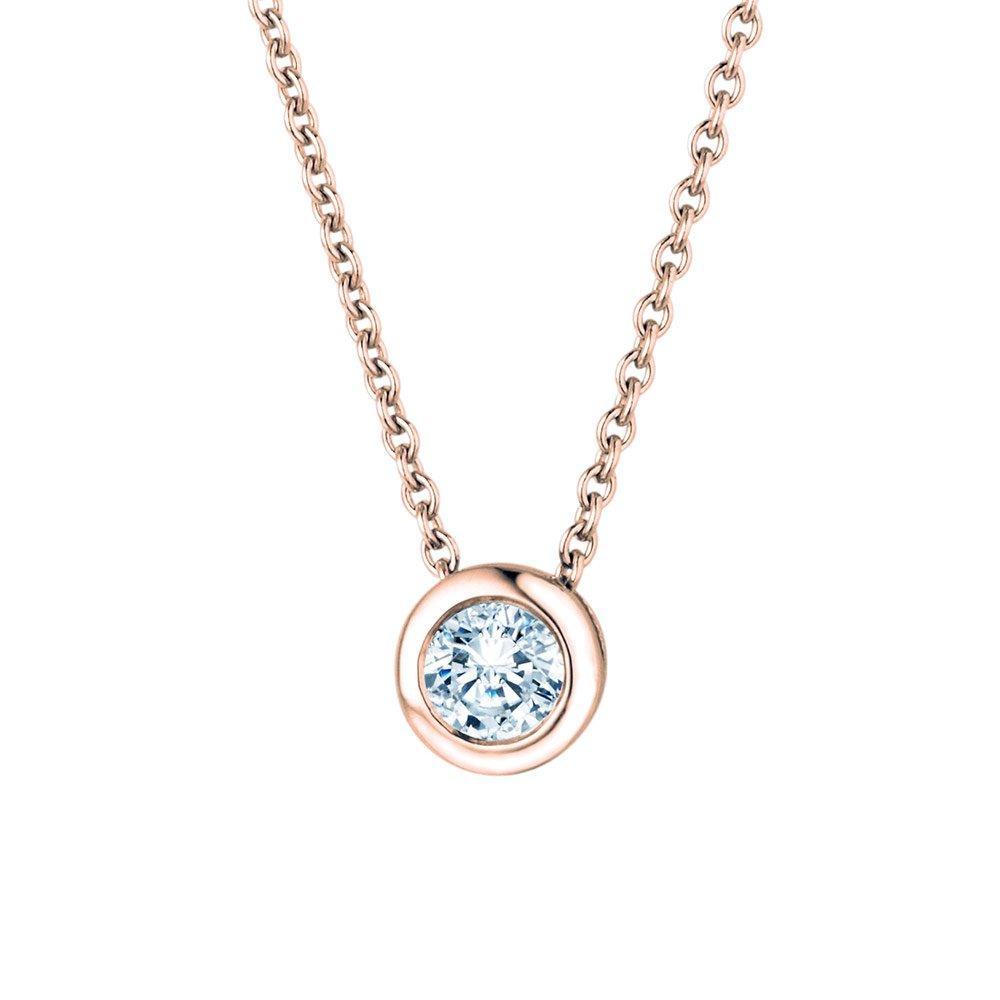 Anhänger Eternal in 18K Roségold mit Diamant online kaufen