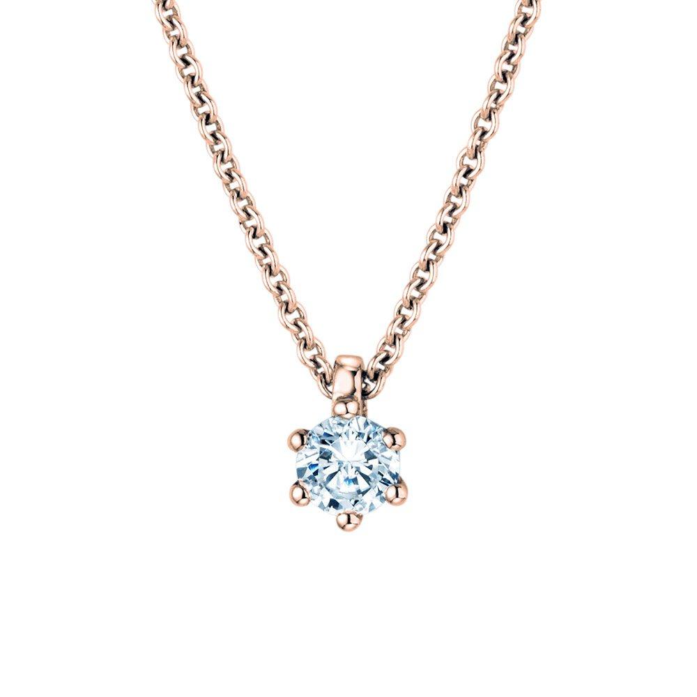 Anhänger Classic in 18K Roségold mit Diamant online kaufen