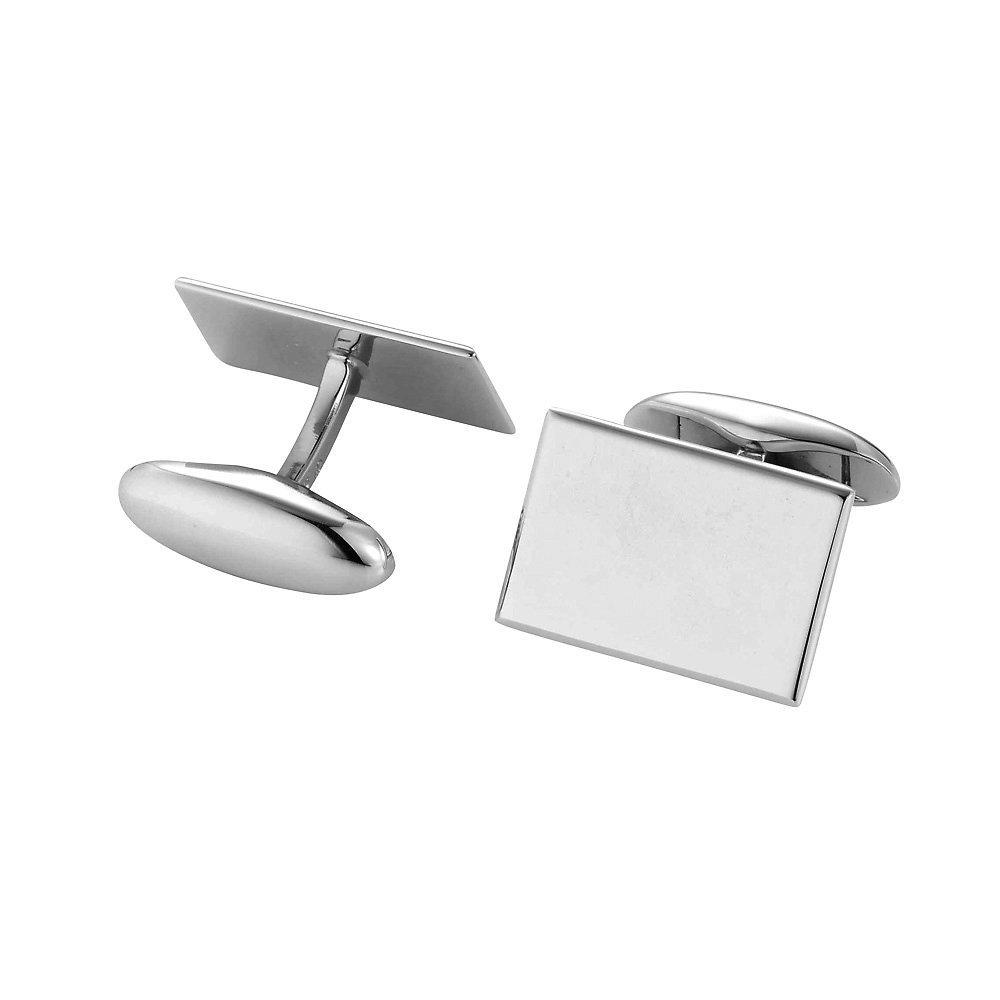handgefertigte Manschettenknöpfe Cosmopolitan in Silber (925/‑), 18,9 x 13mm online kaufen