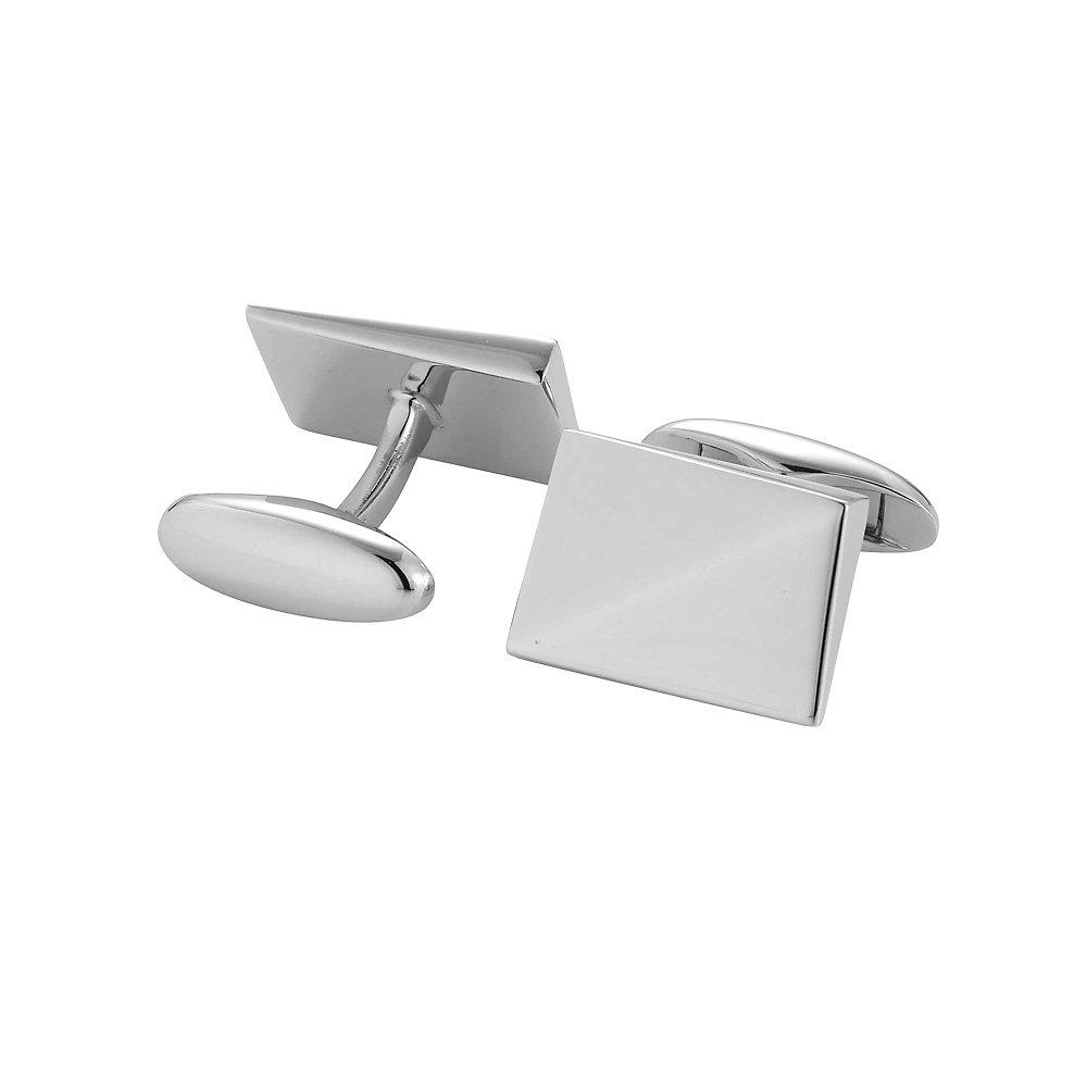 handgefertigte Manschettenknöpfe Cosmopolitan in Silber (925/‑), 17,5 x 12,5mm online kaufen
