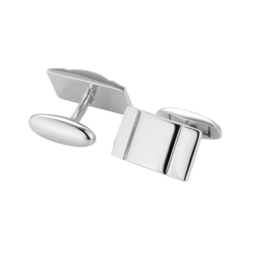 handgefertigte Manschettenknöpfe Cosmopolitan in Silber (925/‑), 19,8 x 12mm online kaufen