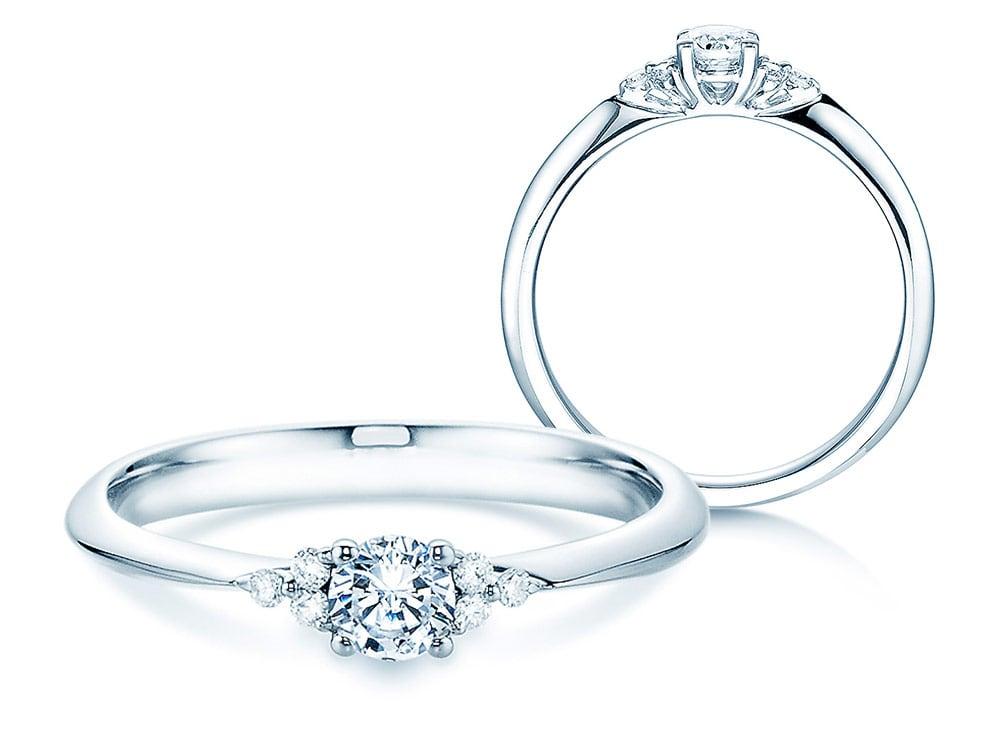 Verlobungsring Glory in Weißgold online kaufen