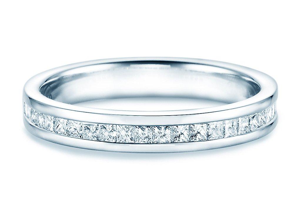 Verlobungsring Princess Memory in Platin (950/‑) online kaufen