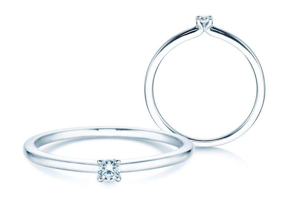 Verlobungsring Classic 4 in Silber online kaufen