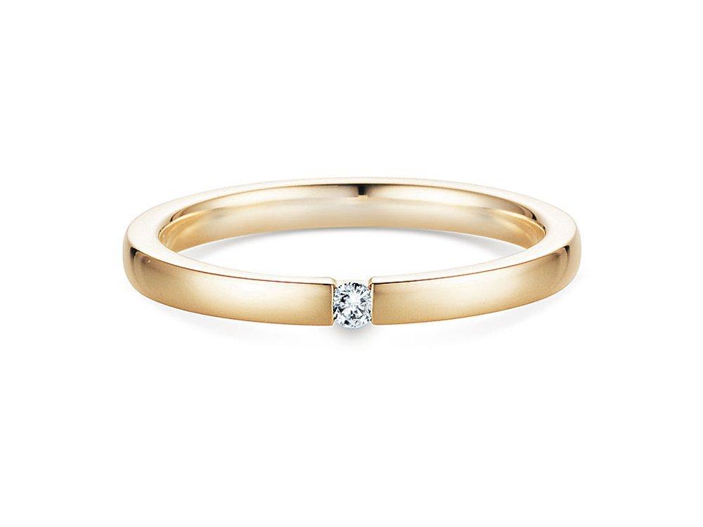 Verlobungsring Infinity in Gelbgold online kaufen