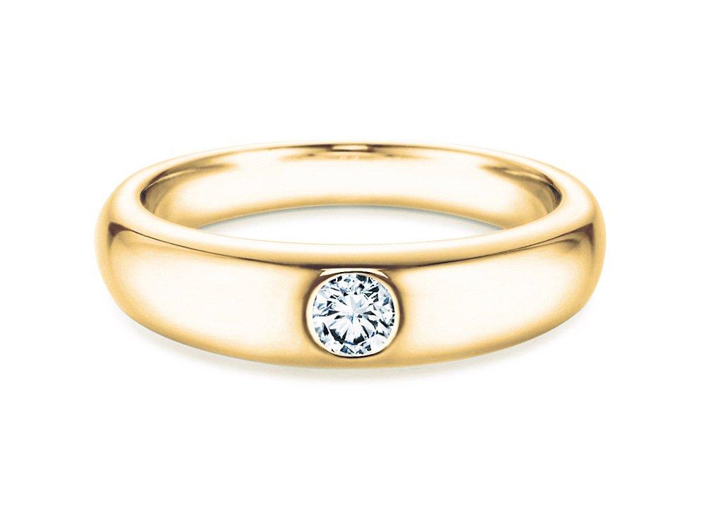 Verlobungsring Promise in Gelbgold online kaufen