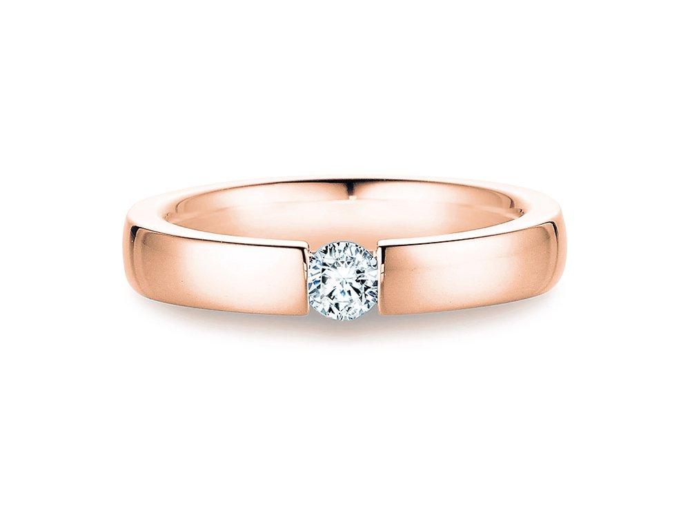 Verlobungsring Infinity in Roségold online kaufen