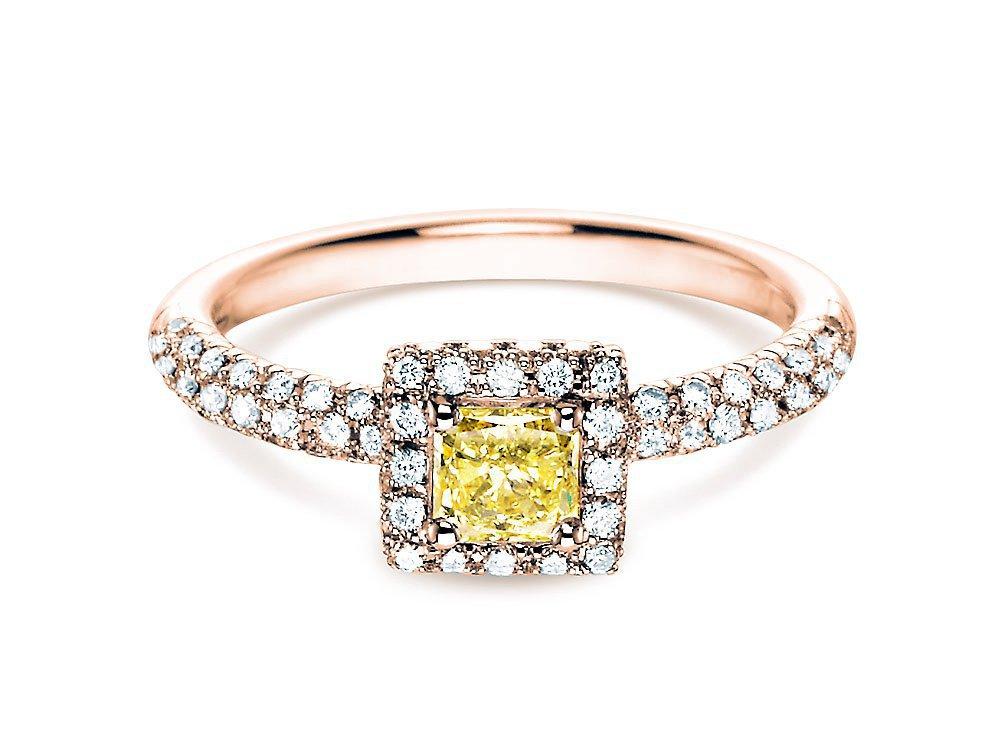 Verlobungsring Sophie in 18K Roségold mit Diamant 1,02ct online kaufen