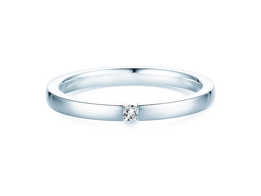 Verlobungsring Infinity in Silber online kaufen