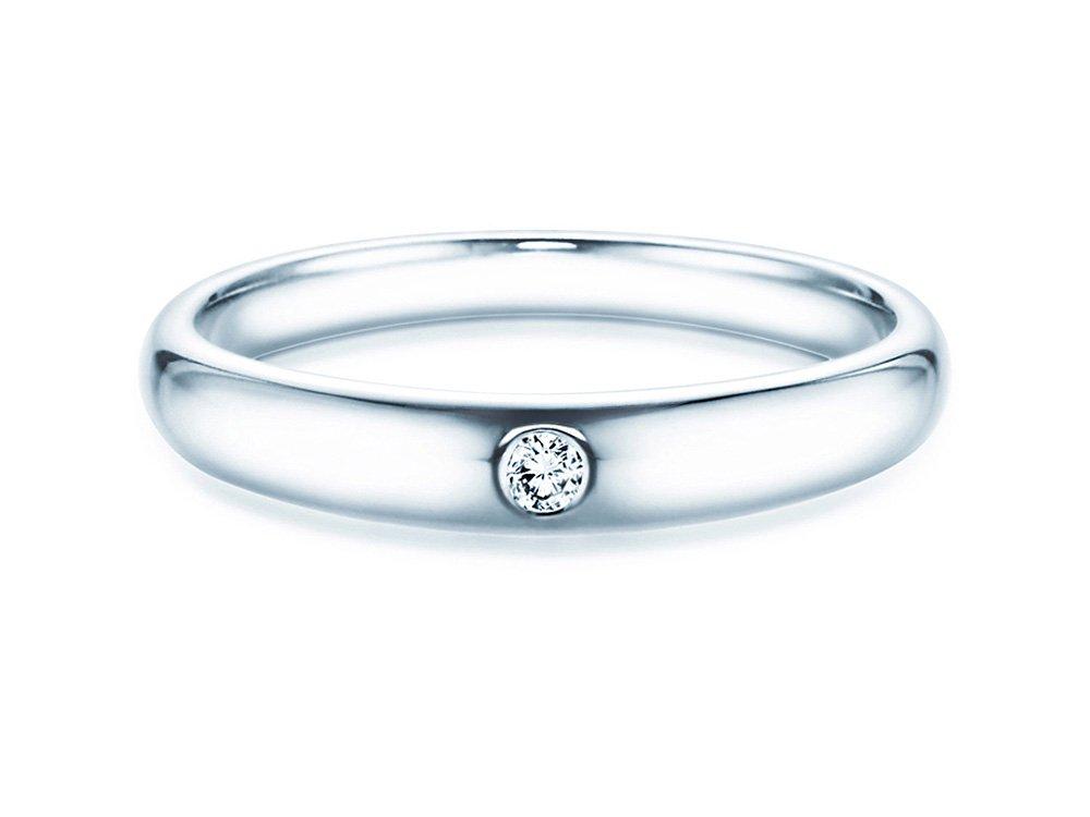 Verlobungsring Promise in Weißgold online kaufen