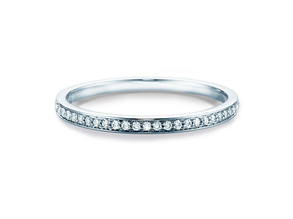 Alliance-/Eternity-Ring in Weissgold online kaufen