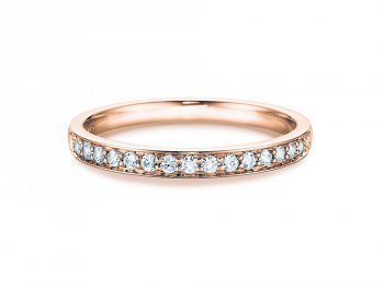 Alliance-/Eternity-Ring in Roségold