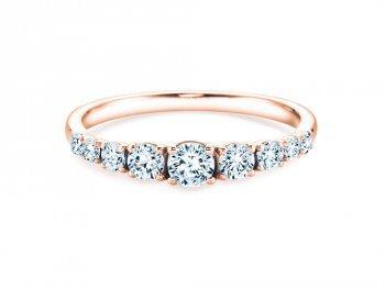 9 Diamonds in Roségold