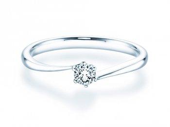Verlobungsring Devotion in Silber