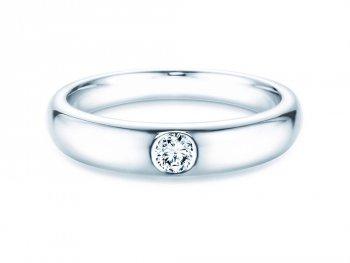 Verlobungsring Promise in Weißgold