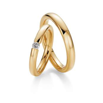 """Eheringe """"The Miracle"""" in Gelbgold"""