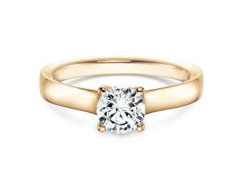 Verlobungsring Modern in 14K Gelbgold mit Diamant 0,75ct H/SI