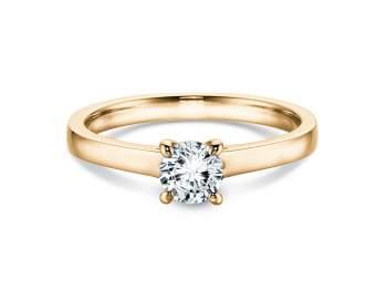 Verlobungsring Romance in 14K Gelbgold mit Diamant 0,75ct H/SI