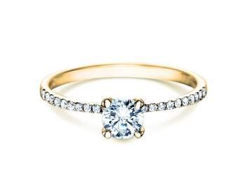 Verlobungsring Grace in 18K Gelbgold mit Diamant 0,70ct