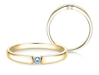 Verlobungsring Infinity Petite in Gelbgold