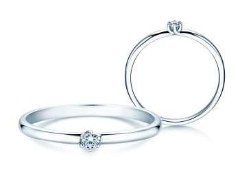 Verlobungsring Melody in Silber