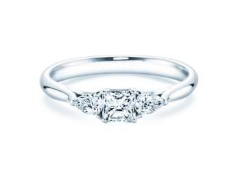 Verlobungsring Glory Princess in Platin mit Diamanten 0,53ct