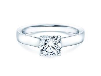 Verlobungsring Modern in Platin mit Diamant 1,00ct G/IF