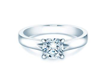 Verlobungsring Romance in Platin mit Diamant 1,00ct G/IF