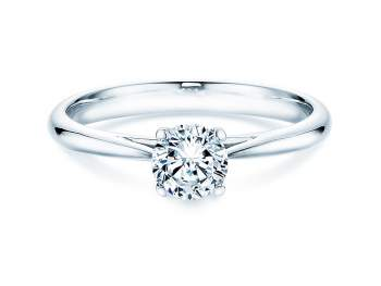 Solitärring Delight in Silber mit Diamant 0,50ct H/SI
