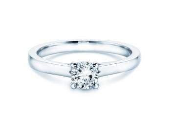 Verlobungsring Romance in Silber mit Diamant 0,50ct H/SI