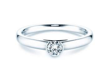 Solitärring Perfection in Weißgold mit Diamant 0,25ct