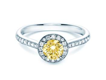 Halo Intense in 18K Weissgold mit Diamant 0,78ct