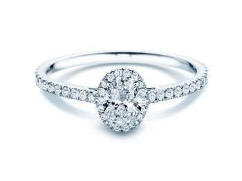 Diamantring Pure Emotion in 18K Weißgold mit Diamant 0,93ct
