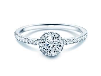 Diamantring Pure Infinity in 18K Weißgold mit Diamant 0,95ct