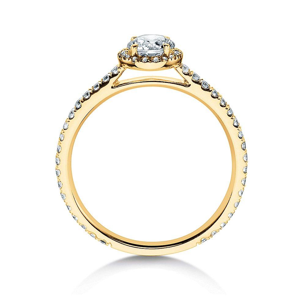 Diamantring Pure Infinity in 18K Gelbgold mit Diamant 0,95ct bei JUWELIER.de