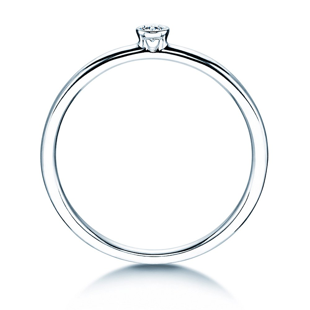 Solitärring Eternal in Platin bei JUWELIER.de