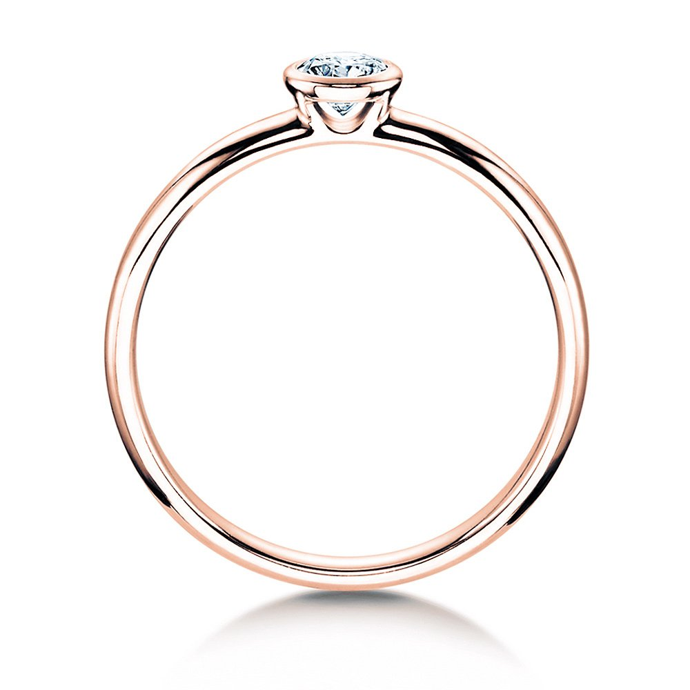 Solitärring Eternal in Roségold bei JUWELIER.de