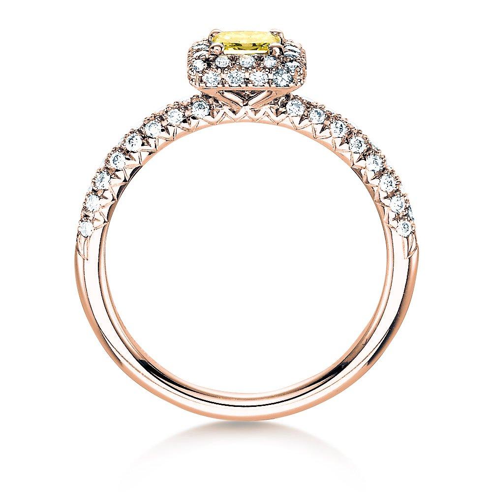 Verlobungsring Sophie in 18K Roségold mit Diamant 1,02ct bei JUWELIER.de