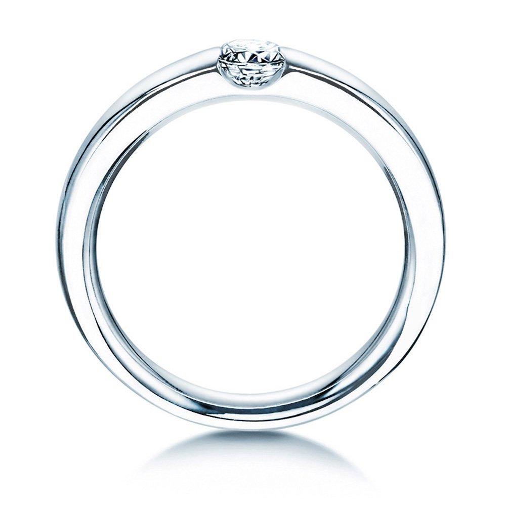 Spannring Destiny in Silber mit Diamant 0,25ct H/SI bei JUWELIER.de