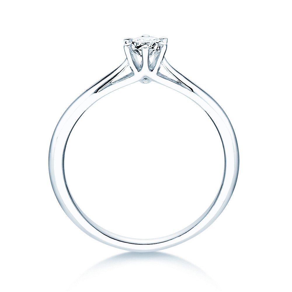 Solitärring Heaven 6 in Silber mit Diamant 0,25ct H/SI bei JUWELIER.de