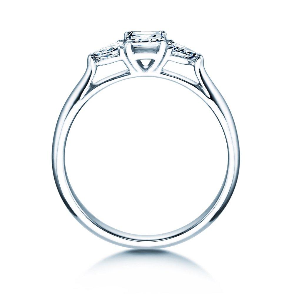 Verlobungsring Glory Princess in 14K Weißgold mit Diamanten 0,53ct bei JUWELIER.de