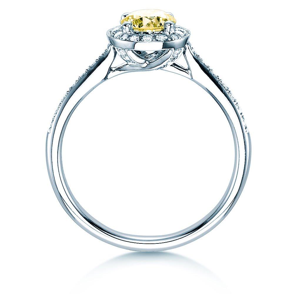 Halo Intense in 18K Weißgold mit Diamant 0,78ct bei JUWELIER.de