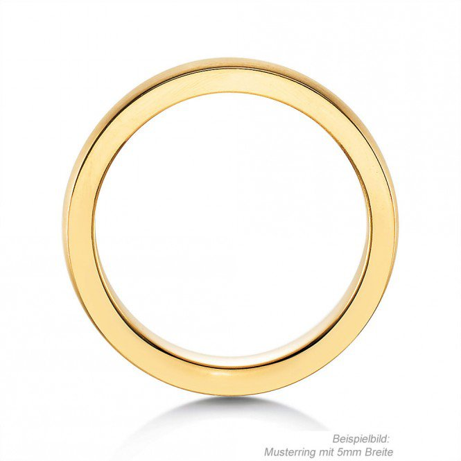 Herrenring Infinity in Gelbgold Made in Germany