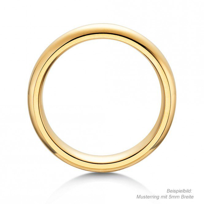 Herrenring Classic in Gelbgold Made in Germany