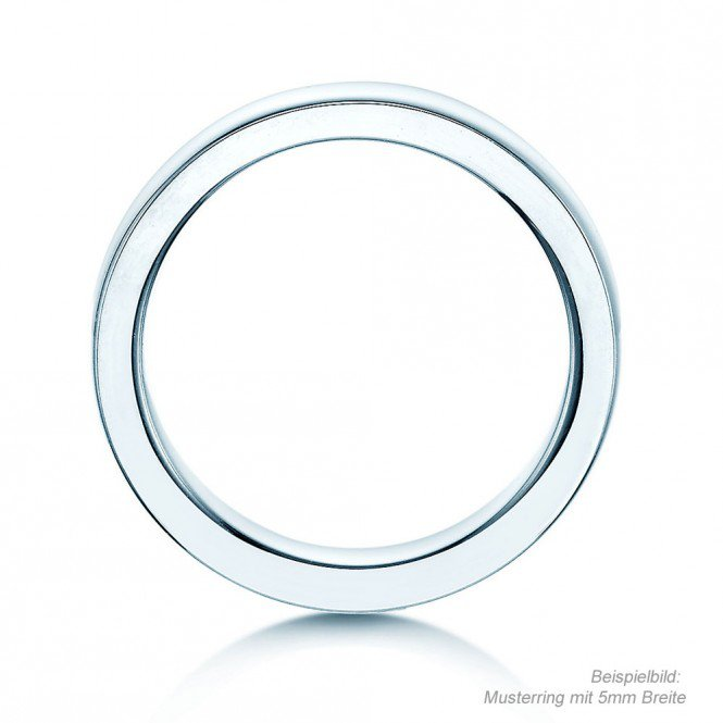 Herrenring Infinity in Platin Made in Germany