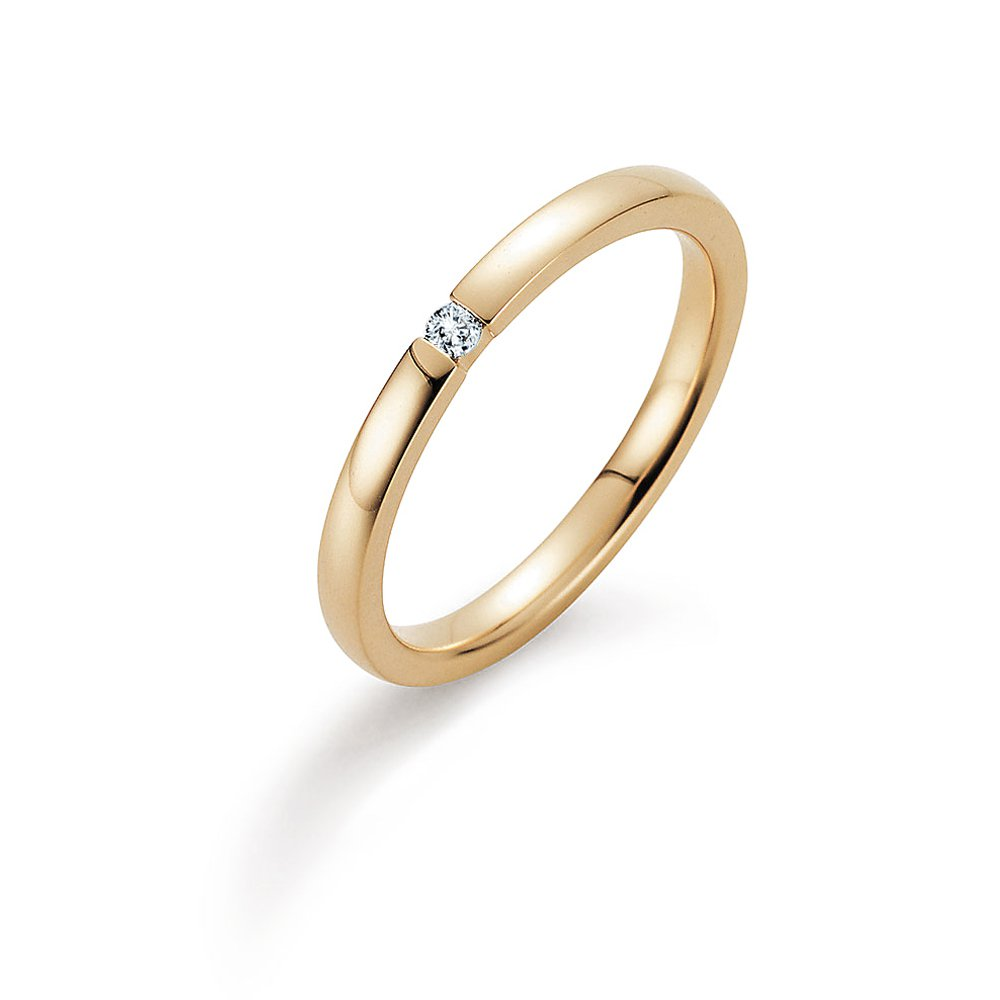 Verlobungsring Infinity in Gelbgold Made in Germany