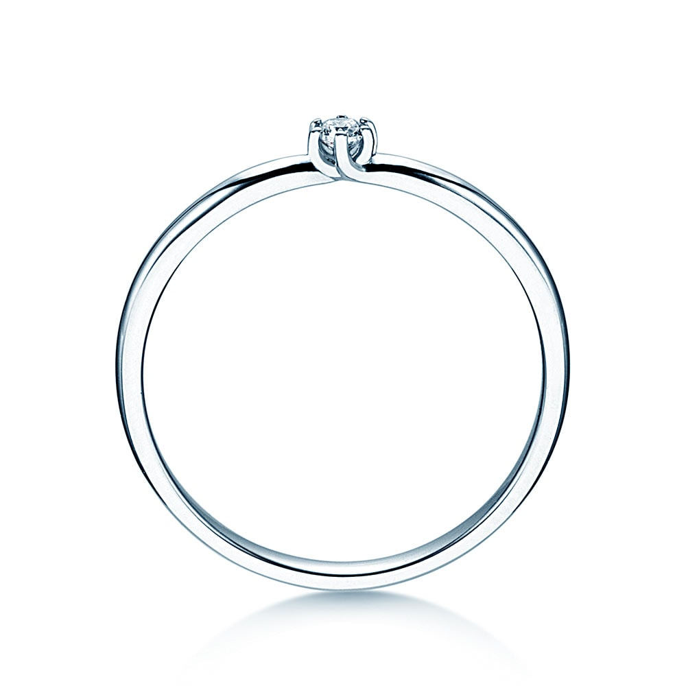 Verlobungsring Melody in Platin Made in Germany