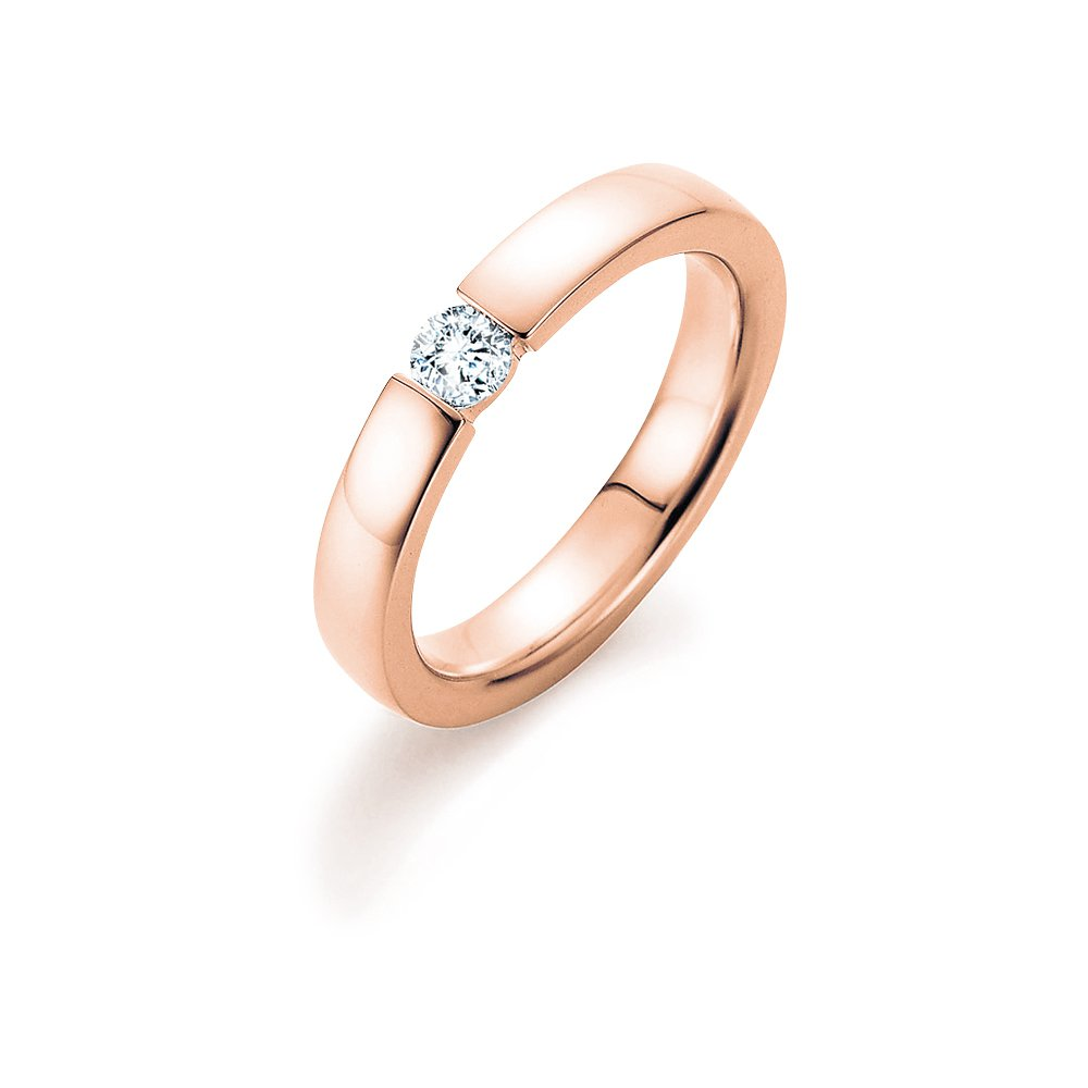 Verlobungsring Infinity in Roségold Made in Germany