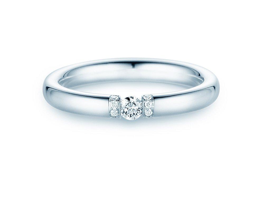 """Eheringe """"Diamond Star"""" in Palladium 950/- im Online Shop"""